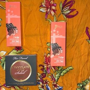 TOO FACED CHOCOLATE GOLD BRONZER &JUVIAS PLACE